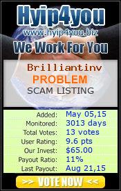 ссылка на мониторинг http://hyip4you.biz/details-5674.html
