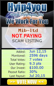 ссылка на мониторинг http://hyip4you.biz/details-5894.html